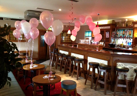 Baby Girls Christening Helium Balloons The Pines Templeogue