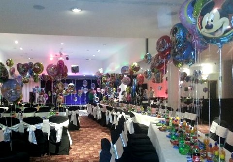 Corporate Helium Balloons for Crumlin Children's Hospital Christmas Party
