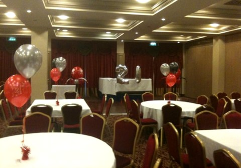 Poker Themed Helium Balloons